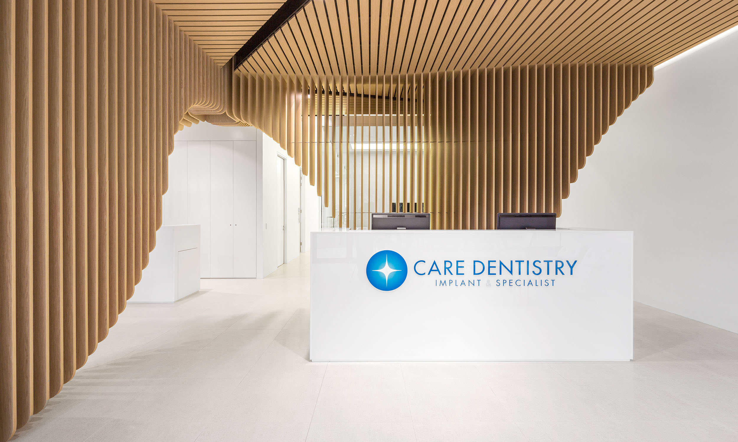 Care Implant Dentistry - View of the reception